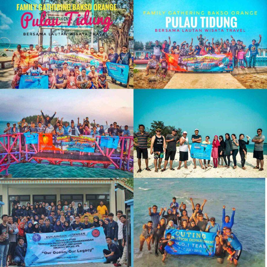 Gallery Klien Lautan Wisata Travel Pulau Seribu
