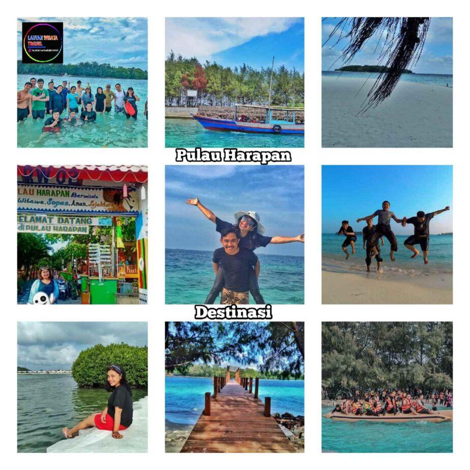 Open Trip Wisata Pulau Harapan 2 Hari 1 Malam