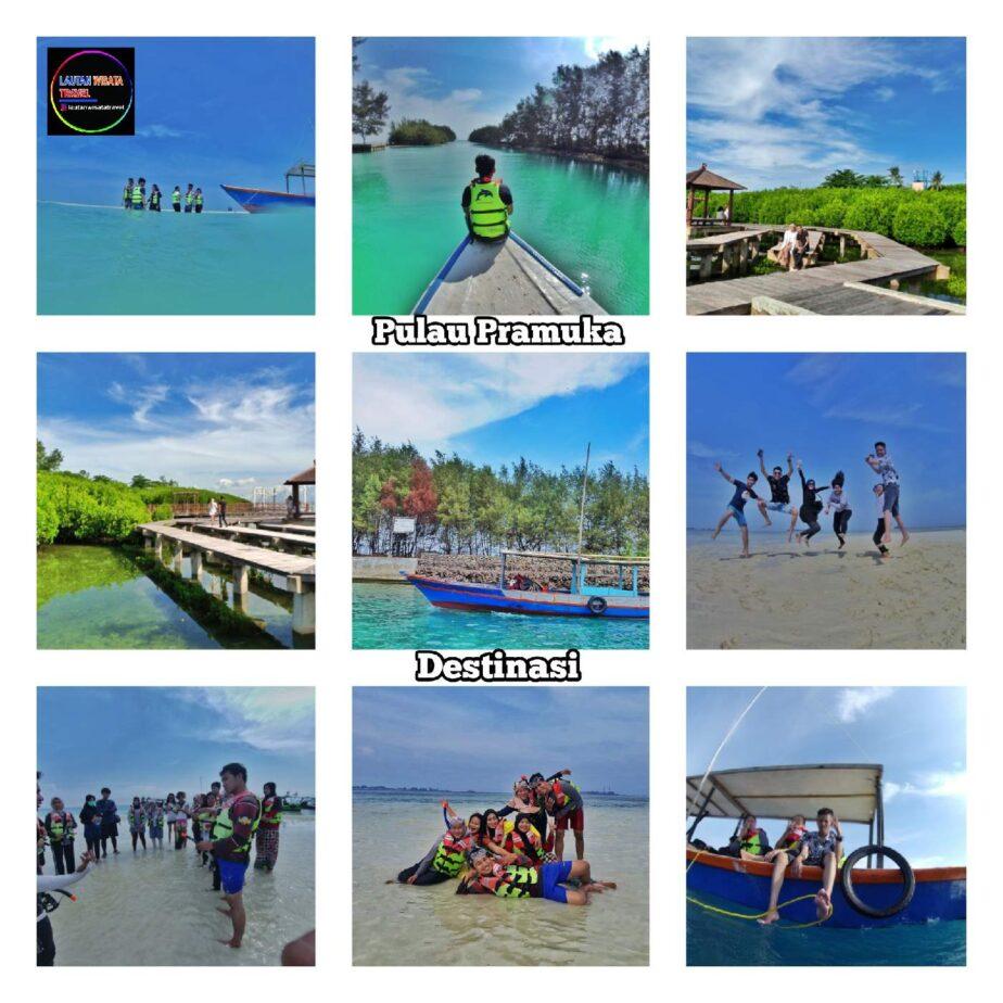Open Trip Wisata Pulau Pramuka 2 Hari 1 Malam